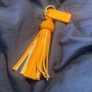 Cute braided tassel keychain